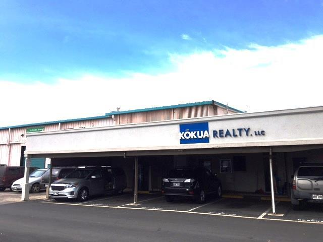 Kokua Realty Commercial Real Estate For Lease 296312 Alamaha Kahului Hawaii Keoni Fursse Hawaii Investment Properties